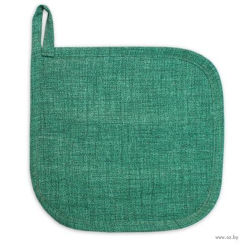 "Прихватка матерчатая ""Фальсо"" (200х200 мм; зеленая) — фото, картинка"