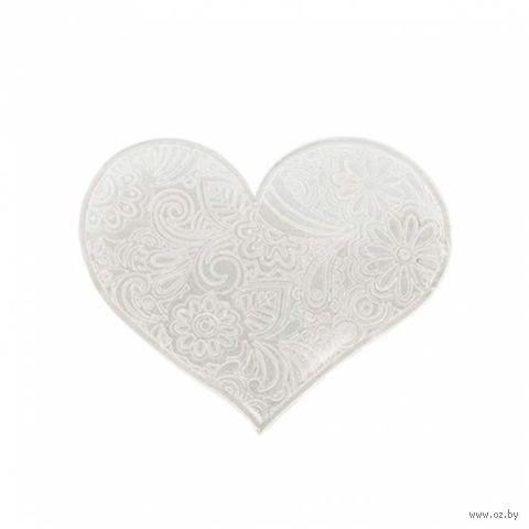 """Штамп для изготовления мыла """"Кружевное сердце"""""""