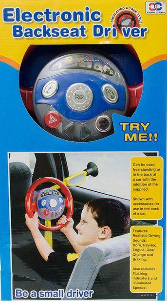 """Музыкальная игрушка """"Руль"""" (с крепежом) — фото, картинка"""