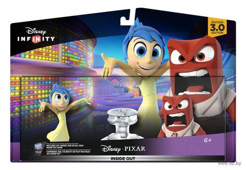 """Disney Infinity 3.0. Набор """"2+1"""". """"Головоломка"""" (Радость, Гнев, Локация """"Головоломка"""")"""