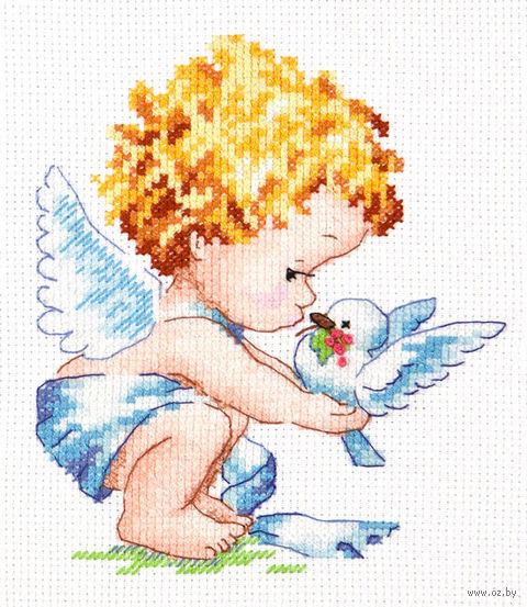 """Вышивка крестом """"Светлый Ангел!"""""""