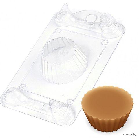 """Форма для изготовления мыла """"Кейк. Основание"""" — фото, картинка"""