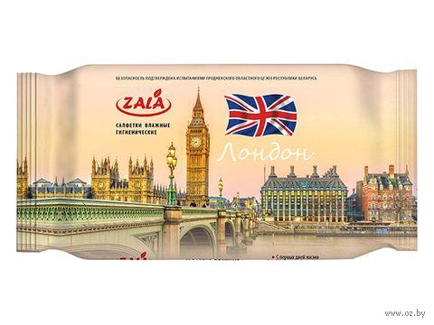 """Влажные салфетки """"Лондон"""" (72 шт.) — фото, картинка"""