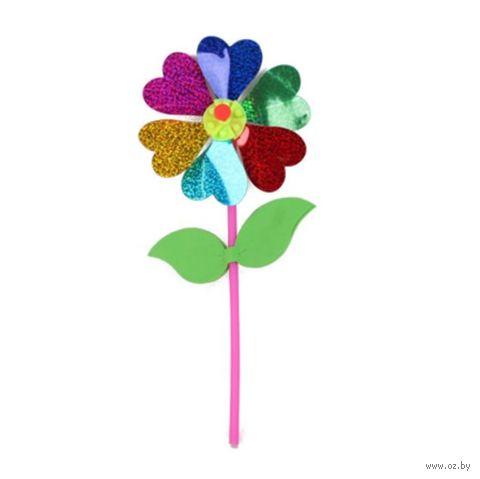 """Детский флюгер """"Вертушка. Цветочек с лепестками"""" — фото, картинка"""