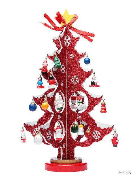 Новогодняя ёлка (30 см; арт. ME1042) — фото, картинка