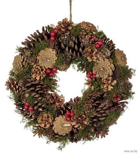 Рождественский венок (33 см) — фото, картинка