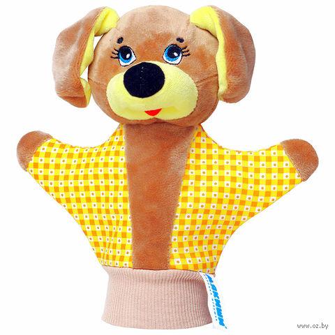 """Мягкая игрушка """"Кукла на руку. Собачка"""""""