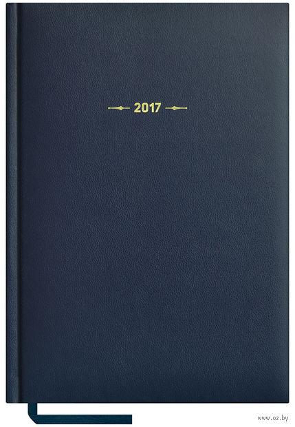 """Ежедневник датированный """"Ariane"""", 2017 (А5; 176 листов; синий)"""