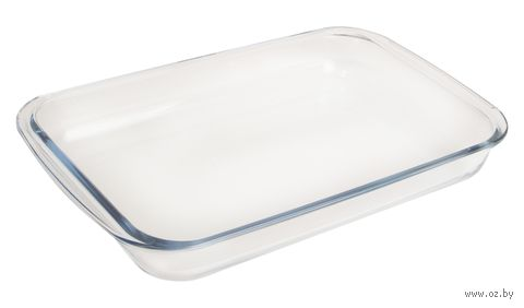 Форма для запекания стеклянная (393х236х52 мм) — фото, картинка