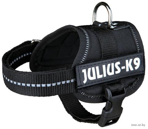 """Шлея тренировочная """"Julius-K9"""" (30-40 см; черная) — фото, картинка"""