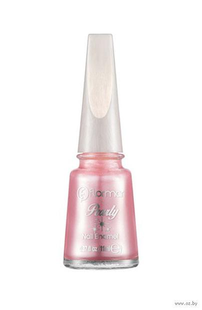 """Лак для ногтей """"Pearly Nail Enamel"""" (тон: 362, pink champagne) — фото, картинка"""