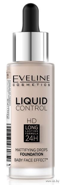 """Тональная основа для лица """"Liquid Control"""" (тон: 005, ivory) — фото, картинка"""