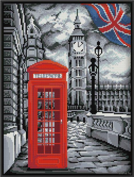 """Алмазная вышивка-мозаика """"В Лондоне"""" (300х400 мм) — фото, картинка"""