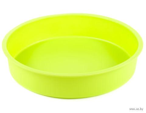 Форма для выпекания силиконовая (22,5*22,5*5 см)