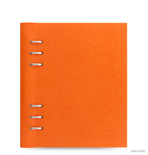 "Записная книжка Filofax ""Clipbook Classic"" (A5; orange)"