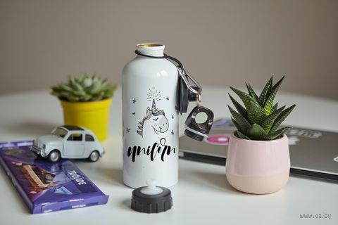 "Бутылка ""Unicorn"" (600 мл; арт. 79) — фото, картинка"