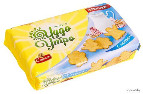 "Печенье сахарное ""Чудо утро. С молоком"" (150 г) — фото, картинка"