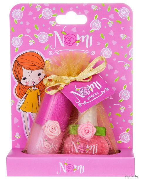 """Подарочный набор детский """"Nomi №9"""" (блеск для губ, лак для ногтей) — фото, картинка"""