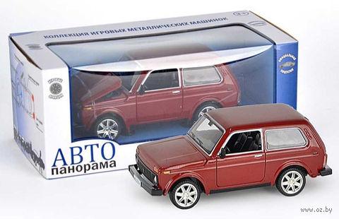 """Модель машины """"ВАЗ 2121"""" (масштаб: 1/22)"""