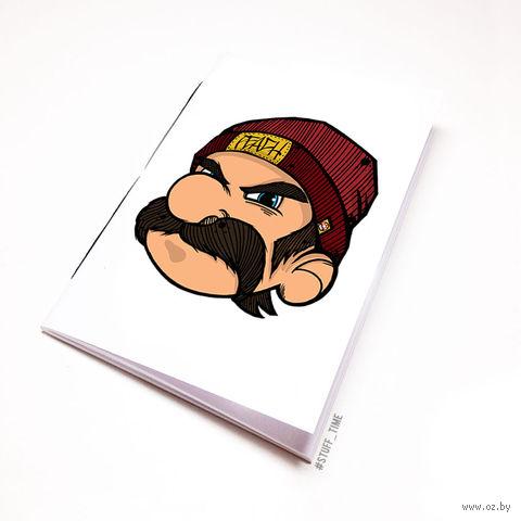 """Блокнот белый """"Марио"""" А5 (282)"""