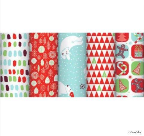 "Бумага упаковочная ""Christmas for Kids"" (70х200 см) — фото, картинка"
