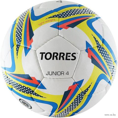 """Мяч футбольный Torres """"Junior-4"""" №4 — фото, картинка"""