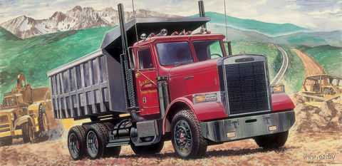 "Автомобиль ""Freightliner Heavy Dumper Truck"" (масштаб: 1/24) — фото, картинка"