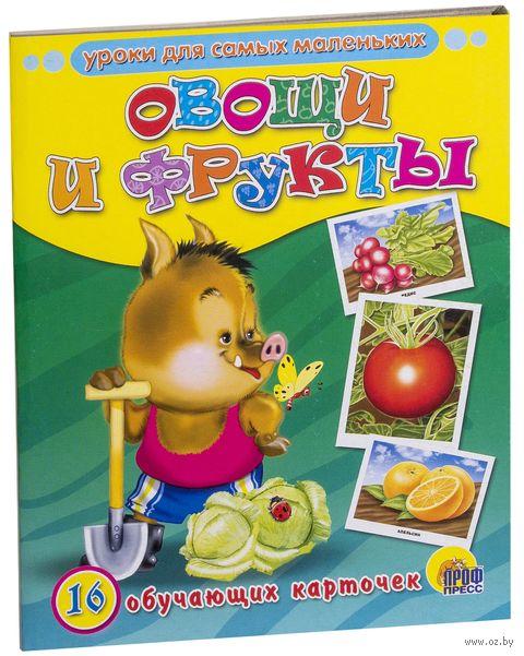 Овощи и фрукты. 16 обучающих карточек