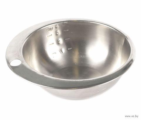 Салатник металлический мерный (800 мл)