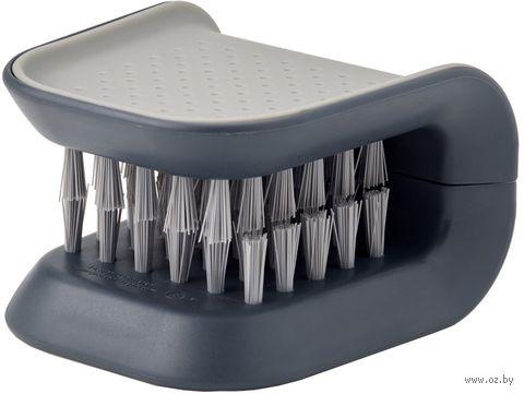 """Щетка для столовых приборов и ножей """"BladeBrush"""" (серая) — фото, картинка"""