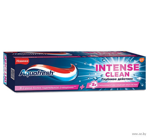 """Зубная паста """"Интенсивное очищение. Глубокое действие"""" (75 мл) — фото, картинка"""