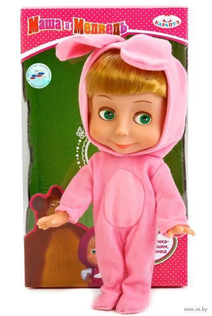 """Музыкальная кукла """"Маша и Медведь. Маша в костюме зайца"""" — фото, картинка"""