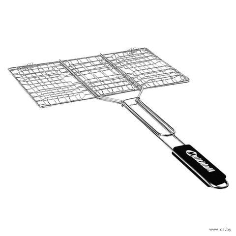 """Решетка-гриль металлическая """"Лайт"""" (34х22 см; арт. 127693) — фото, картинка"""