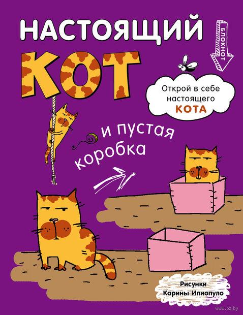 """Блокнот """"Настоящий кот и пустая коробка"""" (170х215 мм)"""