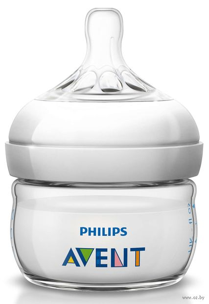 "Бутылочка для кормления ""Natural"" (60 мл) — фото, картинка"