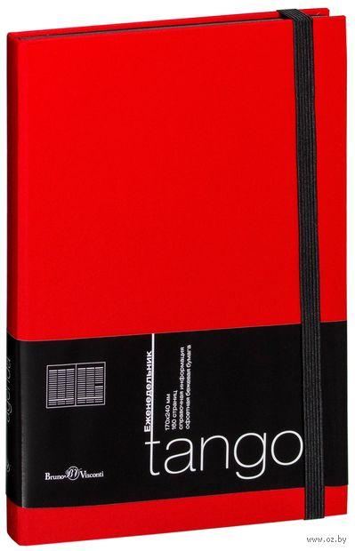 """Еженедельник недатированный """"Tango"""" (B5; красный) — фото, картинка"""