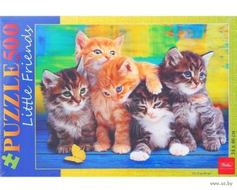 """Пазл """"Дружные котята"""" (500 элементов) — фото, картинка"""
