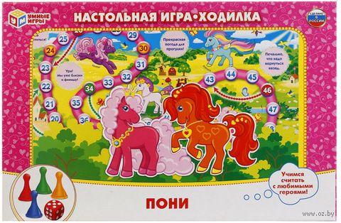 Ходилка. Пони — фото, картинка