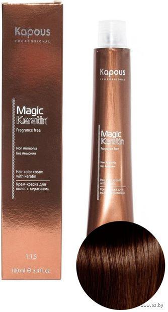 """Крем-краска для волос """"Non Ammonia"""" тон: 5.25, светлый коричневый мокко — фото, картинка"""
