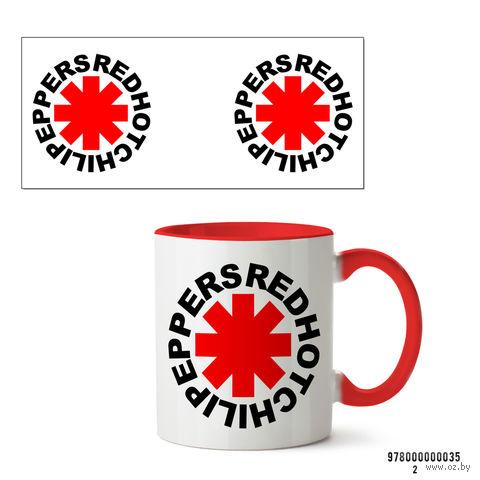 """Кружка """"Red Hot Chili Peppers"""" (красная) — фото, картинка"""