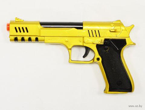 Пистолет (со звуковыми и световыми эффектами; арт. 1382370-ZHY17) — фото, картинка