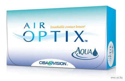 """Контактные линзы """"Air Optix Aqua"""" (1 линза; -3,75 дптр) — фото, картинка"""