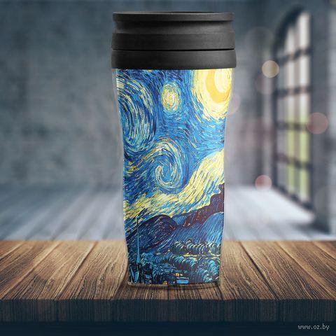 """Термостакан """"Ван Гог. Звездная ночь"""" — фото, картинка"""