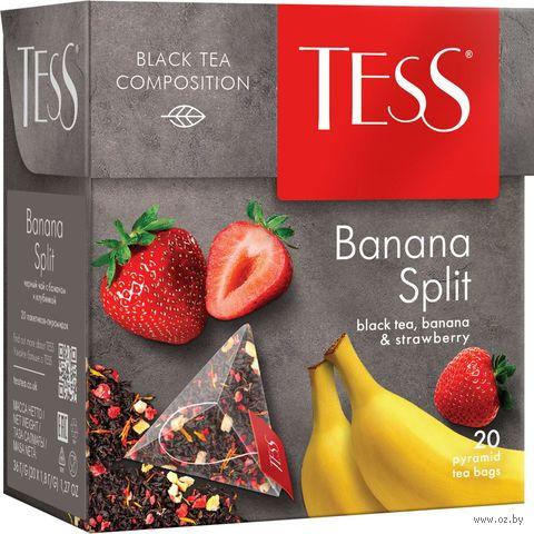 """Чай черный """"Tess. Banana Split"""" (20 пакетиков) — фото, картинка"""