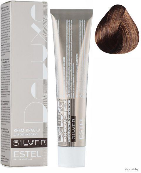 """Крем-краска для волос """"Sense De Luxe Silver"""" тон: 7/47, русый медно-коричневый — фото, картинка"""