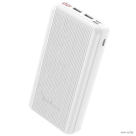 Портативное зарядное устройство Yoobao P20D (белое) — фото, картинка
