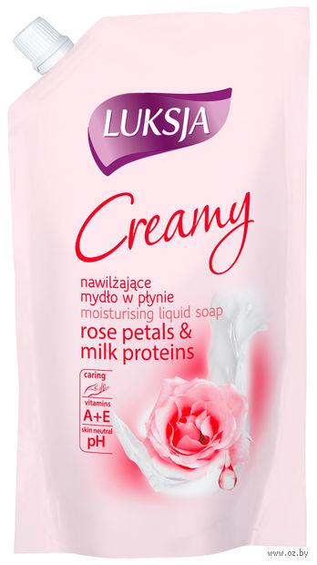 "Жидкое мыло ""Creamy. Лепестки роз и протеины молока"" (400 мл)"