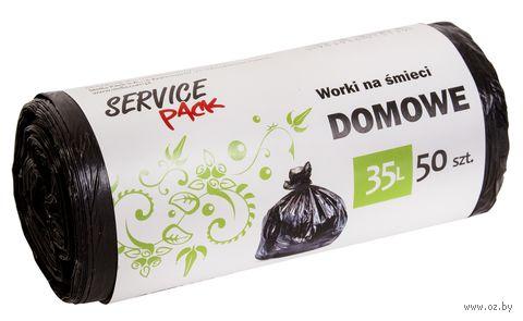 Пакеты для мусора (50 шт.; 35 л) — фото, картинка