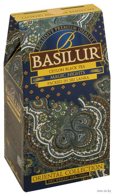 """Чай черный листовой """"Basilur. Волшебные ночи"""" (100 г) — фото, картинка"""