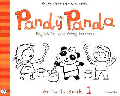 Pandy the Panda: Activity Book 1 — фото, картинка